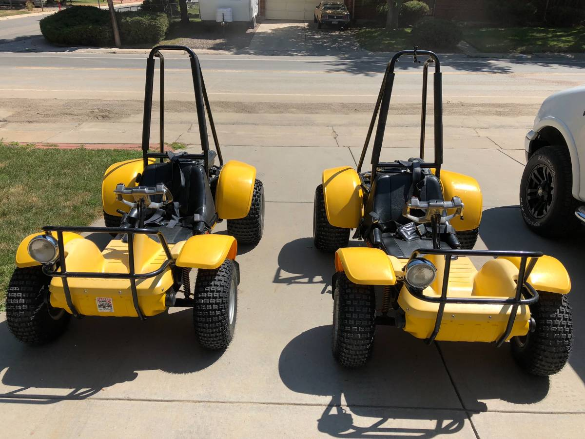 Two Pristine 1979 Honda Odyssey FL250 ATVs For Sale in ...