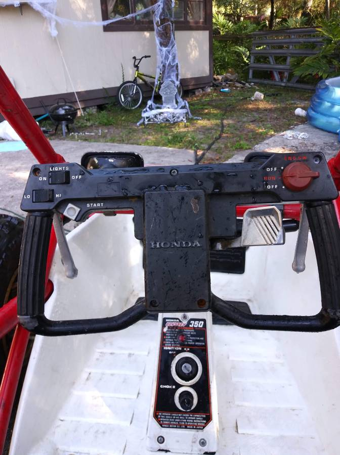 Go Karts Jacksonville Fl >> 1985 Honda Odyssey ATV FL350 For Sale in Jacksonville, Florida